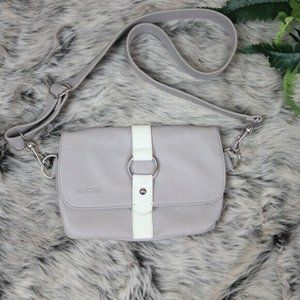Miche Crossbody Hip Bag Gray Sm Grey White Clutch